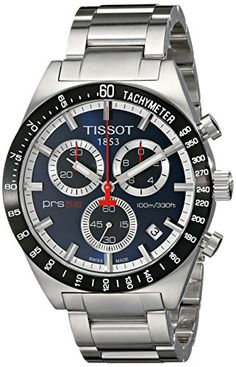 Now available Tissot Men's T0444172104100 PRS516 Stainless Steel Chronograph Watch