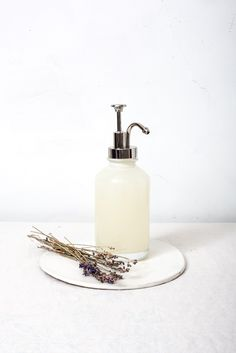 Lavender-Infused Homemade Liquid Hand Soap
