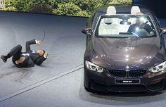 Canadauence TV: CEO da BMW desmaia no salão  em Frankfurt