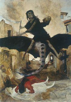 The Plague, 1898 - Arnold Böcklin