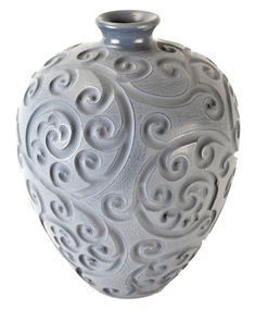 Rod likey the large swirl vase! Hand made in Northern Thailand $100