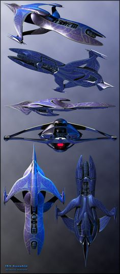 ISA Gunship Version2 by Amras-Arfeiniel. I always wondered why the model companies didn't do the Minbari ships.