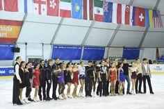General view, FEBRUARY 8, 2015 - Figure Skating : the 27th Winter Universiade Granada 2015 Figure gala exhibition at Universiade Igloo, Granada, Spain. (Photo by AFLO SPORT)