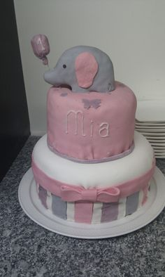Geburtstagstorte für Mia's 1. Geburtstag <3