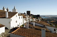 Monsaraz, Alentejo, Portugal - Many of the medieval houses in the fortified hilltop village of Monsaraz have been converted into atmospheric guesthouses.