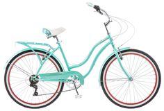 Schwinn Cruiser Bike. Looks a lot like one of my anniversary presents.