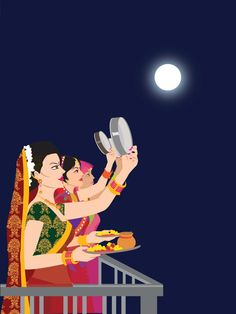 Share everyone this nice message ecard on Karva Chauth. Free online My Karva Chauth Message Card For You ecards on Karva Chauth