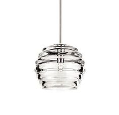 San marco small 12v pendant light pendant lighting white topaz wac lighting mp 916 cl aloadofball Choice Image