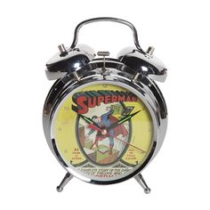 Relógio Despertador Superman HQ #LojaDCComics #Superman #EuQuero