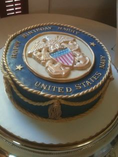 Go Navy Cake by Mikes Amazing Cakes in Redmond WA Goodies