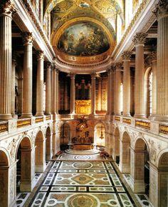 Château de Versailles - Palacio de Versalles // The Royal Chapel - La Capilla Real