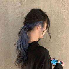 Under Hair Dye, Under Hair Color, Hidden Hair Color, Half Dyed Hair, Split Dyed Hair, Half Colored Hair, Hair Color Streaks, Hair Color Purple, Hair Dye Colors