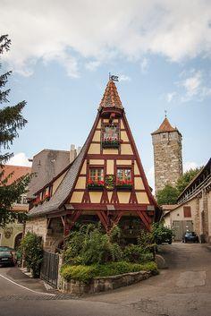 Blacksmith's House, Rothenburg, Germany