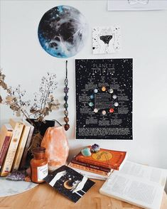 Planets - Meanings and Symbols Poster, Astrology Poster - Planeten – Bedeutungen und Symbole Poster, Astrologie-Plakat Source by bussal Uni Room, Dorm Room, Decoration Bedroom, Room Decorations, Wall Decor, Aesthetic Room Decor, Tumblr Rooms, Basement Bedrooms, Decorate Your Room