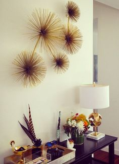Add Seaside Inspiration And Three Dimensional Dazzle To Your Walls With Our Trio Of Sea Urchin Wall Decor Pieces Crafted F