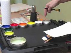How-To: Create A Glaze Color From Hot Cakes Encaustic Paints - YouTube