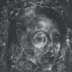 Who is the lady revealed in this x-ray image of a portrait of Elizabeth I in the National Portrait Gallery?