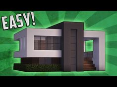 Minecraft: How To Build A Small Modern House Tutorial (#11) - YouTube