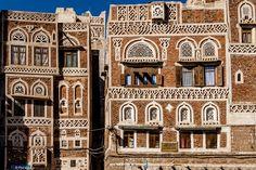 Yemeni architecture - Sana'a, Yemen | by Phil Marion (66 million views - thank you all)