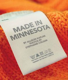 Made in Minnesota http://mspmag.com/Shop-And-Style/Articles/Features/Made-in-Minnesota/