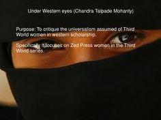 chandra mohanty under western eyes - Google Search