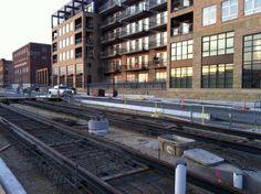 Rails running by the Lyric.10.26.2011