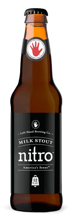 Milk Stout Nitro - Left Hand Brewing - Best milk stout I've ever had! One of my favorite beers