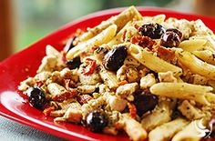 Mediterranean Pasta with Chicken