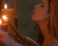 Wiccan Beliefs And Habits: 4 Health Practices That Are Not Witchcraft-Lighting a candle with your breath is Sandra Bullock's specialty. Sandra Bullock, Magick, Witchcraft, Wiccan Beliefs, Easy Magic, Simple Magic, Witch Powers, Monster Under The Bed, Dark Fairytale