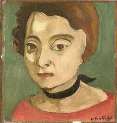 Marguerite au ruban de velours (1916)