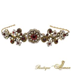 #jewelry SULTANA SWAROVSKI HEADBAND  #jewelry #ottoman