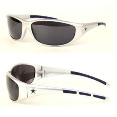 7ad3974a254e NFL Team 3 Series Style Sport Sunglasses (UV 400 protection) (Dallas  Cowboys) Team word-mark on one arm and teams primary logo on the opposite  arm Team ...