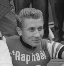 When you read about Jacques Anquetil seducing his doctor's wife, marrying her, then having a ménage à trois with her daughter, fathering her child, seducing his step son's daughter, fathering her child, openly admitting to doping, and feeding amphetamines to animals; Lance Armstrong doesn't seem so bad.