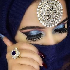 ShaguftaHussein Egyptian Makeup, Arabic Makeup, Indian Bridal Makeup, Arabic Beauty, Pretty Eyes, Beautiful Eyes, Beautiful Hijab, Glam Makeup, Hair Makeup