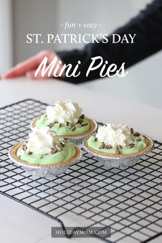Looking for a fun and easy dessert for St. Patrick's Day? This delicious treat takes only 15 minutes to prepare and serves 12.