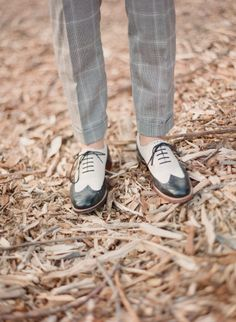 #wingtips #shoes Photography by elizabethmessina.com  Read more - http://www.stylemepretty.com/2013/08/15/ojai-valley-rehearsal-dinner-from-elizabeth-messina-photography/