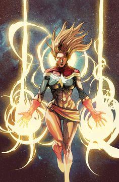 Captain Marvel # 1- Marvel NOW