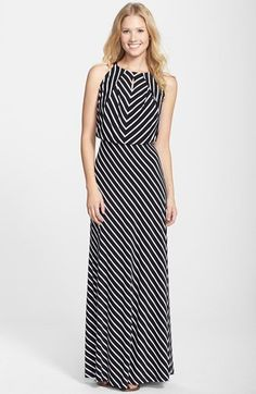 Pin for Later: Get Spring Ready With These Trusty Transitional Maxi Dresses Marc New York by Andrew Marc Stripe Jersey Maxi Dress Marc New York by Andrew Marc Stripe Jersey Maxi Dress (£83)