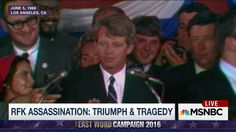 On June 8, 1968, the nation buried Democratic presidential candidate Robert F. Kennedy, after he was assassinated the night he won the California primary. MSNBC's Lawrence O'Donnell takes a look at the life and death of the legendary political figure.