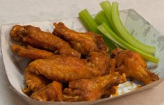 Chicken Wings & Celery  http://pepperspizzaandsubs.com/