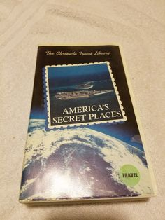 VHS Tape - America's secret places - The Chronicle Travel Library