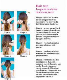 DIY - ponytail