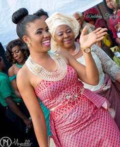 Igbo Traditional Wedding Bride, Groom and Bridesmaids Inspiration for Gorgeous attires, coral beads and African Dresses For Women, African Print Fashion, African Attire, African Women, Most Beautiful Black Women, African Princess, African Traditional Wedding, Wedding Bride, Bride Groom