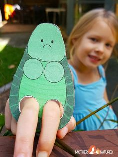 Printable Animal Finger Puppets for Kids - Mother Natured