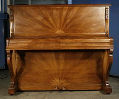 A 1920's Gaveau Upright Piano with an Art Deco Case   #TuscanyAgriturismoGiratola