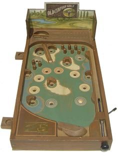 I want this pin ball golf game for the shop!