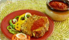mozzerella stuffed meatloaf