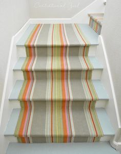 Centsational Girl's The Happy Staircase featuring #DashandAlbert's Stone Soup Woven Cotton Rug