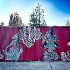 Beauty break on my morning run. #redhook #wallart #streetart #streetartphotography #morningrun #instaart #beauty
