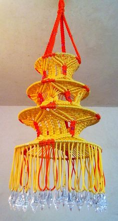 Macrame decorative Lantern - Home  Lifestyle